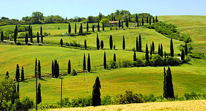 Nordic Walking e relax in Val d'Orcia 8-10 aprile 2016