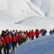 Foto Winter Nordic Walking a Castelluccio di Norcia