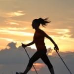 Corso base per apprendere la tecnica del Nordic Walking Sabato 1 e domenica 2 dicembre 2018 in spiaggia a Palombina Nuova di Ancona