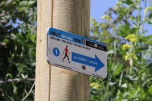 Cartello Nordic Walking Park Offagna